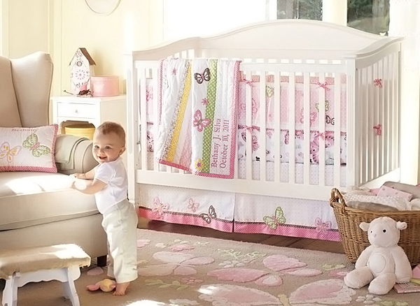 48 Pink Nursery Room Design Ideas For Baby Girls Home Design Lover Mesmerizing Baby Room For Girl