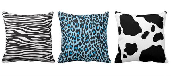 Animal Skin Pillows