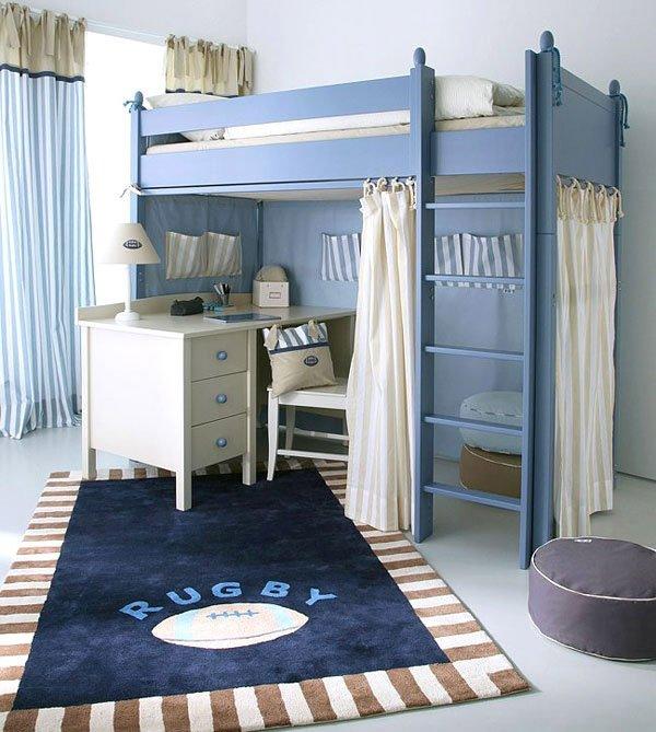simple loft bed