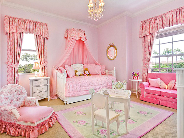 Delightful Pink Nursery Room Design