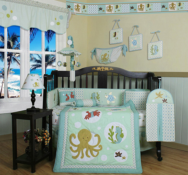 sea animals nursery - Baby Boy Room Themes