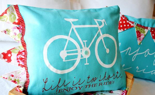 Enjoy the Ride Pillows