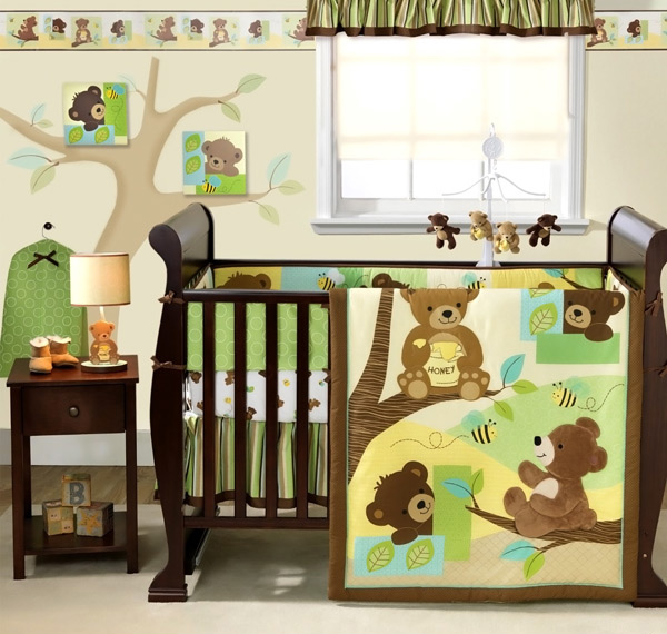 honey bear nursery - Baby Boy Room Themes