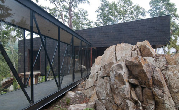 home design in forest