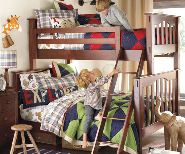 Image result for kids in a bunk bed
