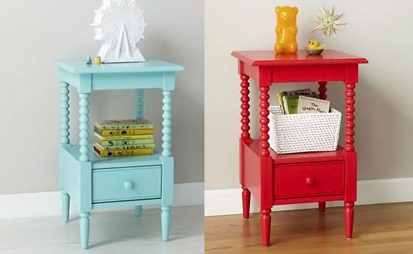 Kid 39 s bedroom furniture small and useful bedside tables Night table ideas
