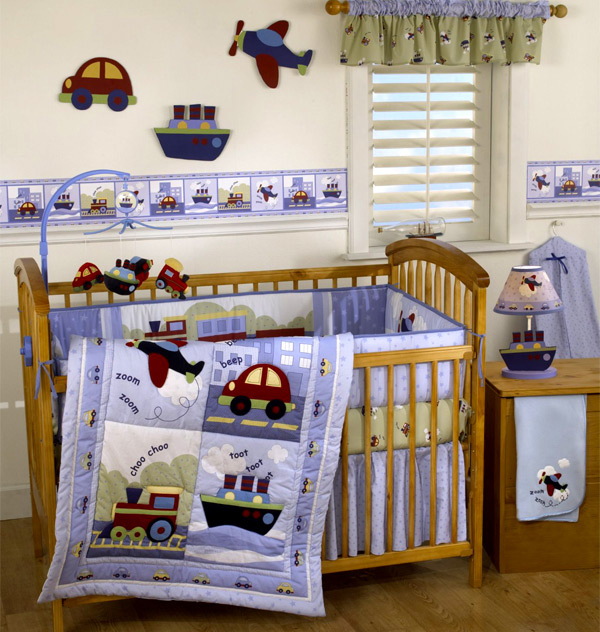 travel time nursery for kids - Baby Boy Room Themes