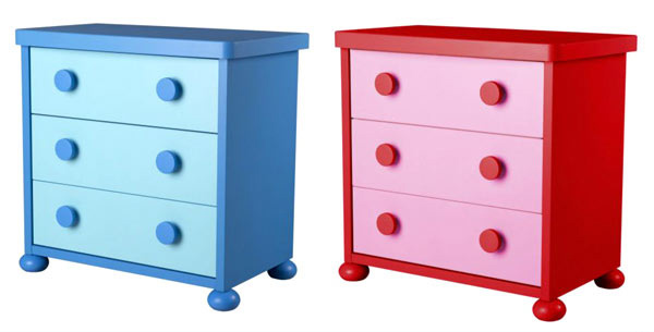 kid's bedroom furniture: small and useful bedside tables | home