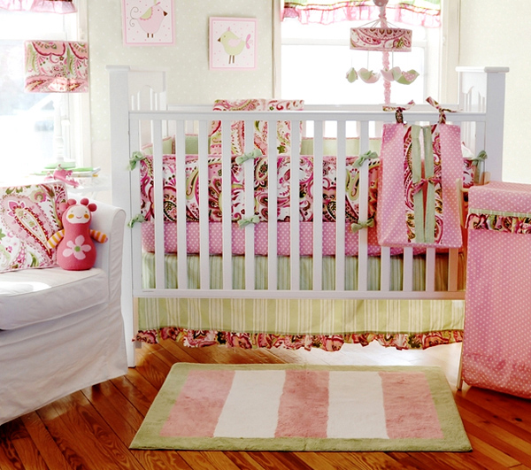 Angel Themed Design For A Baby Girl S Nursery: 15 Pink Nursery Room Design Ideas For Baby Girls