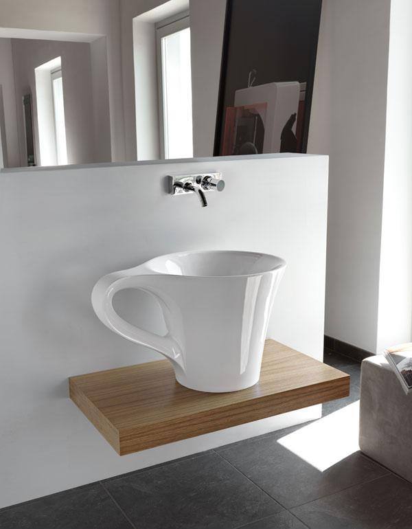 cup appoggio lavatory