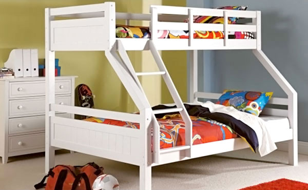 Space Bunk Beds kid's bedroom furniture: space saving bunk beds | home design lover