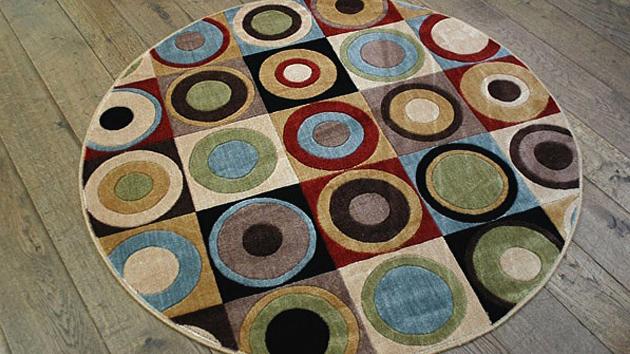 modern round carpet rugs