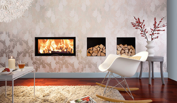 Feel The Warmth Of Style From 20 Modern Fireplace Designs