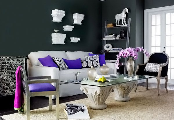 High Quality Modern Chic Living Room