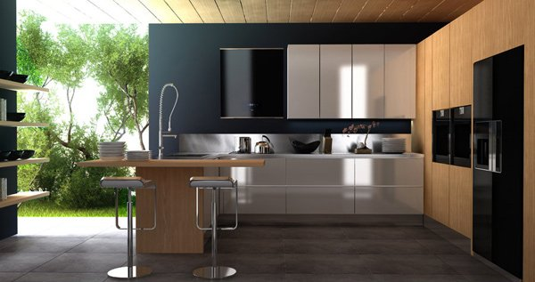 20 Modern and Functional Kitchen Bar Designs | Home Design Lover