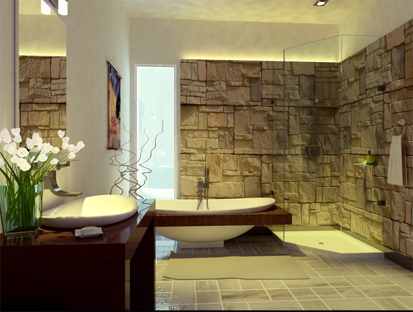 20 exceptional and relaxing contemporary bathroom designs - Bathroom designs for home ...