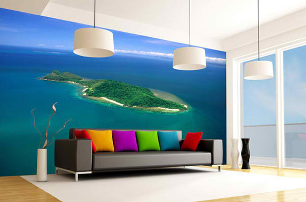 Modern Living Room Colors Blue 15 colorful living room designs for a dynamic look | home design lover