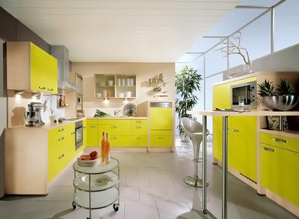 15 Yellow Modular Kitchen Ideas | Home Design Lover