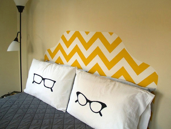 Starched Fabric Headboard