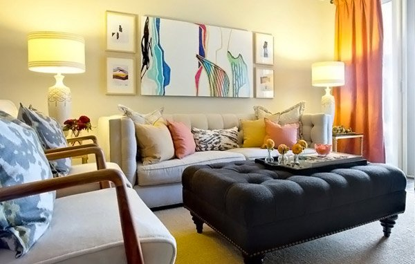Genial Modern Chic Living Room