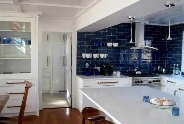 48 Amazingly Cool Blue Kitchen Ideas Home Design Lover Gorgeous Blue Kitchen Designs