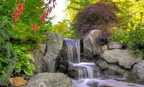 stone waterfalls