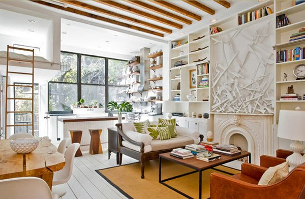 20 Incredibly Eclectic Living Room Designs | Home Design Lover