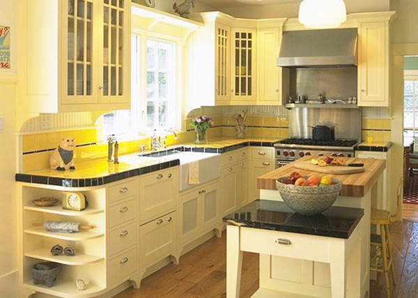 15 yellow modular kitchen ideas home design lover for Fascinating yellow kitchen ideas