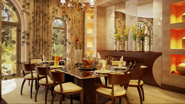 20 fabulously attractive classical dining room designs for Dining room interior design ideas