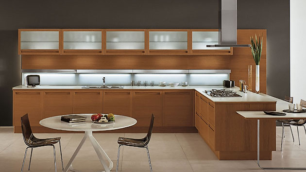 kitchen wooden design 20 sleek and modern wooden kitchen designs home 3511