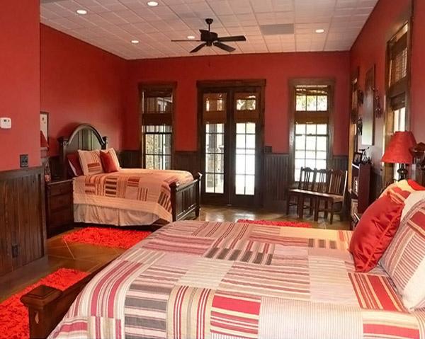 Red Bedroom Designs