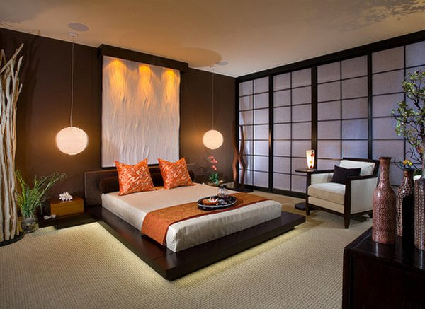 48 Charming Bedrooms With Asian Influence Home Design Lover Custom Oriental Bedroom Designs