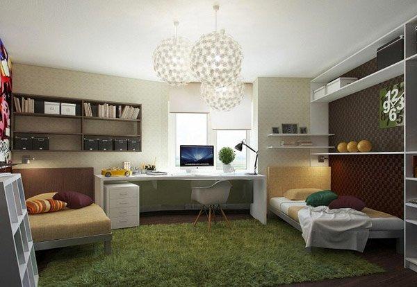 bedroom work area