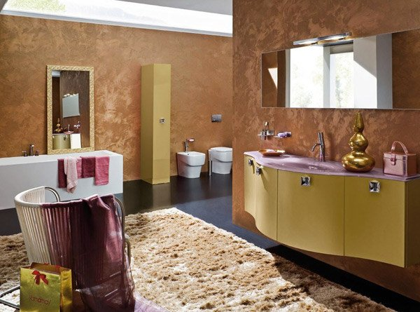Brown And White Bathroom. Brown Bathroom design 18 Sophisticated Ideas  Home Design Lover