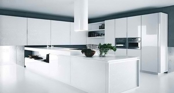 18 Modern White Kitchen Design Ideas