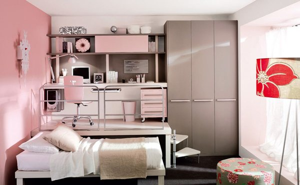 outstanding bedroom ideas girls room | 20 Stylish Teenage Girls Bedroom Ideas | Home Design Lover