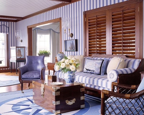 Blue Striped Home