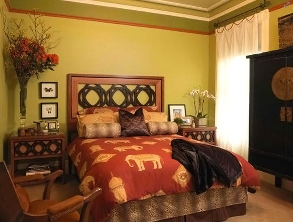 Asian Bedroom Design