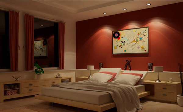 15 Invigorating Red Bedroom Designs Home Design Lover