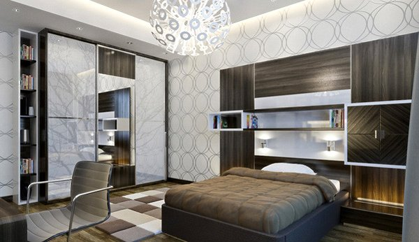 20 teenage boys bedroom designs home design lover for Male teenage bedroom ideas