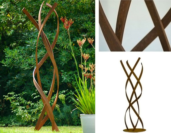 abstract garden sculptures