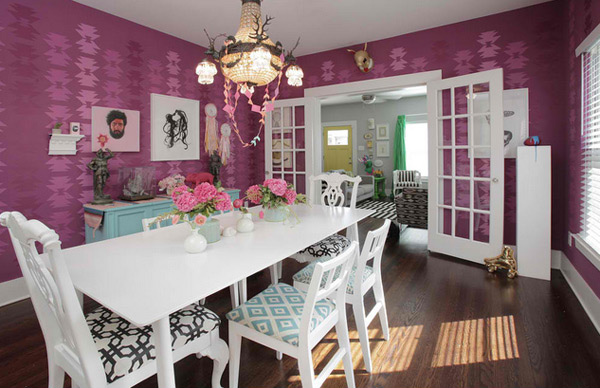 20 Eclectic Dining Room Designs | Home Design Lover