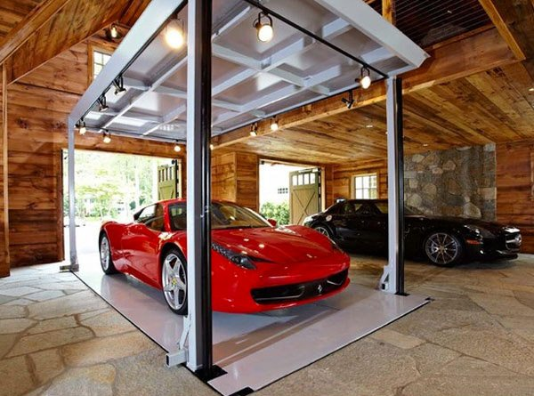every man 39 s dream structure a creative and luxurious house garage home design lover. Black Bedroom Furniture Sets. Home Design Ideas