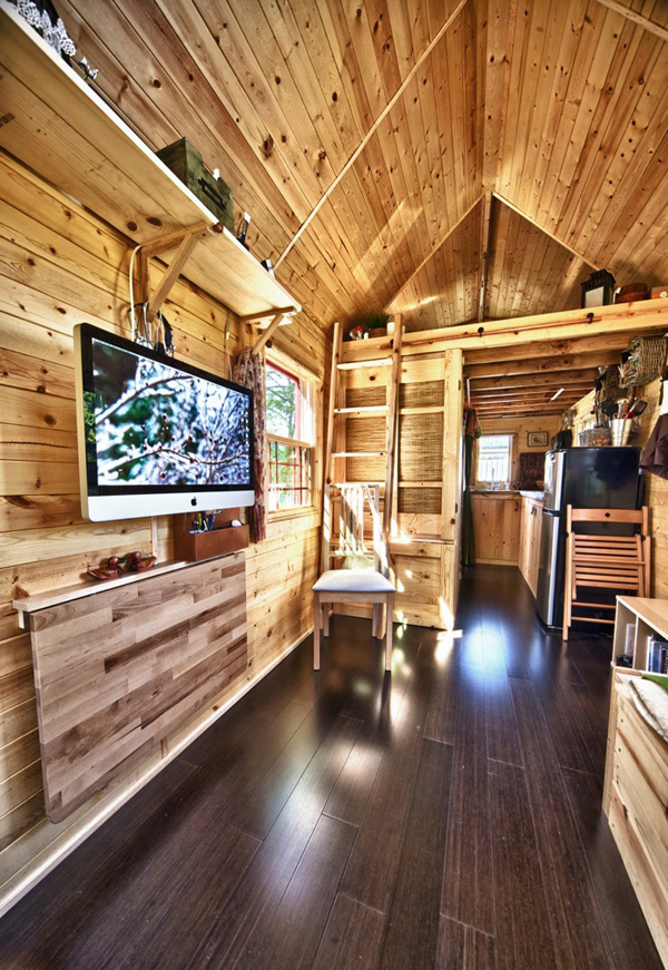 Inside Tiny House Interior Design: The Tiny Tack House- A Couple's Perfect Mobile Home