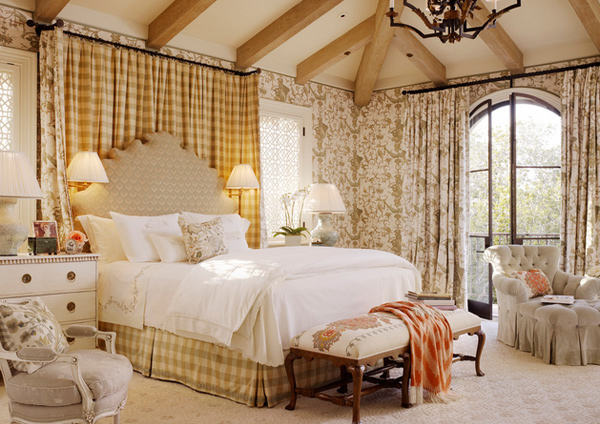 15 pretty country inspired bedroom ideas home design lover for Country bedroom designs