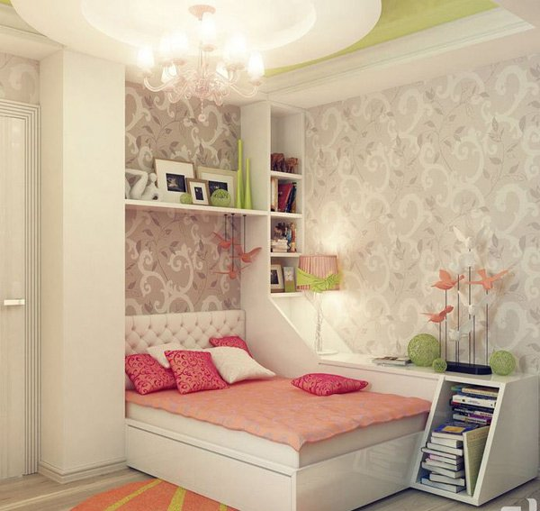 20 stylish teenage girls bedroom ideas home design lover rh homedesignlover com bedroom decoration for teenage girl bedroom decoration for teenage girl