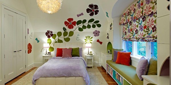 Be creative with the walls
