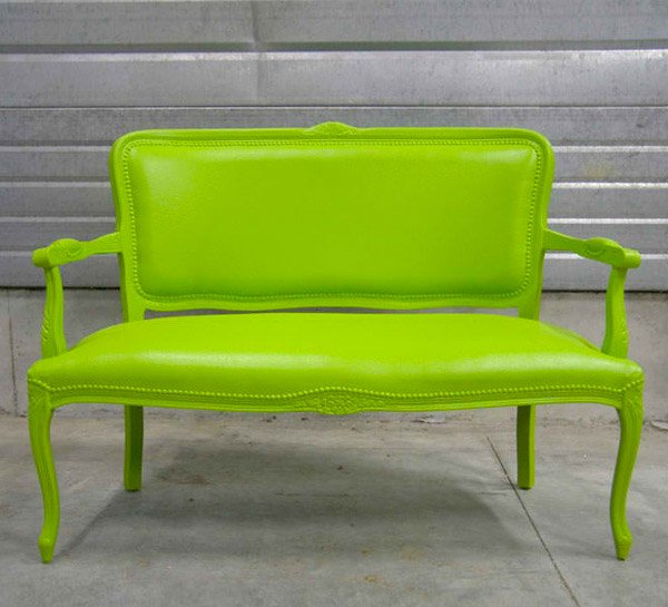 cushioned seat