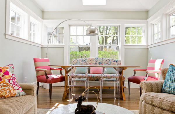 Eclectic Dining Room In Boston Email Save Photo