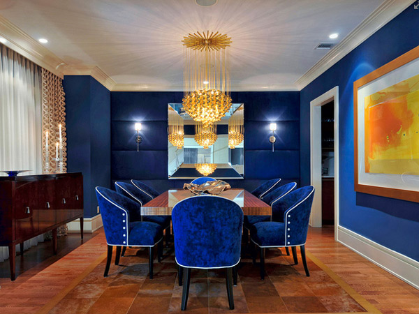 Eclectic Dining Room In New York